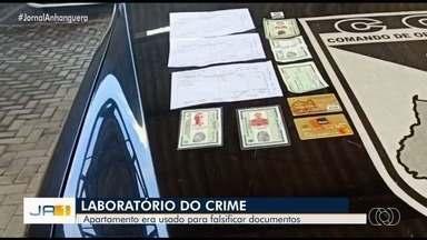 PM localiza apartamento usado para produzir documentos falsos e clonar cartões, em Goiânia - Local fica no Setor Sudoeste.