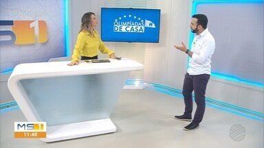 """Academias de Artes Marciais voltam em Campo Grande e """"Olimpíadas de Casa"""" faz sucesso - Foram muitos os vídeos que chegaram no whatsapp da TV Morena completando o desafio. Mande o seu para o número (66) 9.9933-5358"""
