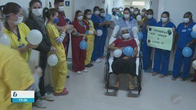 Primeira paciente com Covid-19 tratada com plasma recebe alta em Serrana - Plasma foi retirado de pacientes curados.