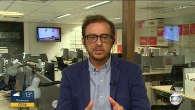 Octavio Guedes comenta sobre a operação da PF para combater corrupção no Rio - Polícia Federal realizou operação para investigar corrupção na aquisição de hospitais de campanha no Rio de Janeiro.