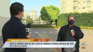 Creas de São José atende mais de 300 casos de violência contra crianças em 2020 - Órgão faz um alerta.