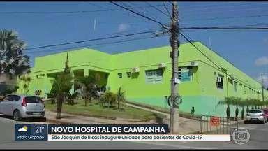 São Joaquim de Bicas inaugura Hospital de Campanha - Preocupação da prefeitura é a grande população carcerária da cidade.