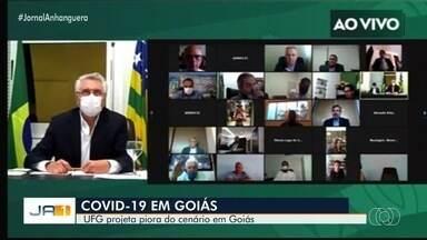 Governo repercute pesquisa da UFG que aponta possibilidade de 6 mil mortes por Covid-19 - Número pode ser atingido caso o isolamento social não seja respeitado.
