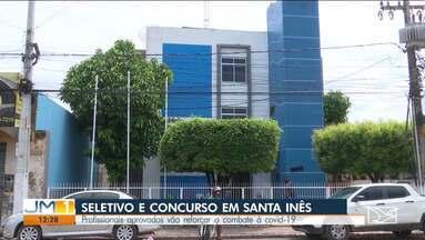 Continua em andamento o processo seletivo de profissionais da saúde em Santa Inês - Os selecionados vão atuar no combate à Covid-19.
