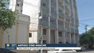 Antigo Cine Anache vai a leilão em Corumbá - Prédio histórico abrigou cinema que tinha até ar condicionado na cidade pantaneira