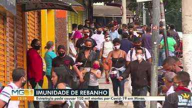 Pesquisador da UFMG alerta que para conter a pandemia é preciso manter o isolamento social - Medida serve para evitar o contágio da Covid-19.