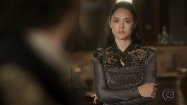 Joaquim conta para Anna que Thomas é o traidor da Coroa - Anna fica chocada com as revelações de Joaquim, mas defende o marido