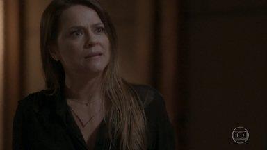 Lili discute com Germano por causa de Fabinho - Germano promete tentar fazer algo para amenizar a situação