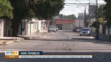 Moradores de Linhares reclamam da circulação de ônibus à noite - Problema ocorreu após a mudança dos horários da empresa responsável pelos veículos