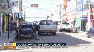 Após primeira morte por Covid-19, Pedro Canário cria a própria classificação de risco - Hoje o município tem nove casos da doença