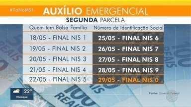 Agências da Caixa terão plantão para saque do auxílio emergencial neste sábado - Em Corumbá, atendimento sobre dúvidas sobre saque será feito em poliesportivo