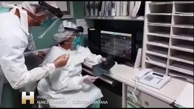 As historias de medicos e enfermeiras contra a Covid-19. - Na Bahia, dois mil profissionais de saude foram infectados pelo novo coronavirus.