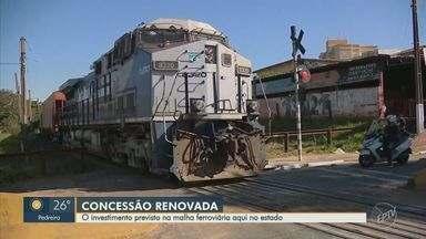 Concessão de 30 anos de malha ferroviária prevê investimento de R$ 6 bi - Nos próximos cinco anos, serão investidos R$ 347 mi nas obras de duplicação de 100 km de extensão entre Campinas e Itirapina, na região central do estado.