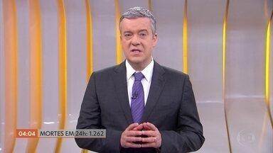 Covid-19: Brasil registra 1.262 mil mortes em 24 horas - Brasil bateu dois tristes recordes: o do maior número de óbitos num único dia e o maior número de casos confirmados de pessoas infectadas pelo coronavírus. Segundo o Ministério da Saúde, registramos. Em vinte e quatro horas, chegou a 1.262 mil.