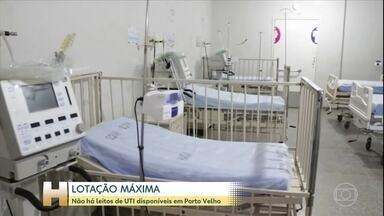 Não há mais leitos de UTI em Porto Velho - Em 24 horas treze pessoas morreram em Rondônia.O Estado registrou 5.477 casos confirmados e 172 mortes pela Covid-19.
