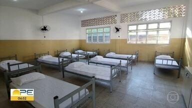 Recife inaugura abrigo provisório para idosos sem-teto - Local tem capacidade para atender 40 idosos e funcionará em tempo integral.