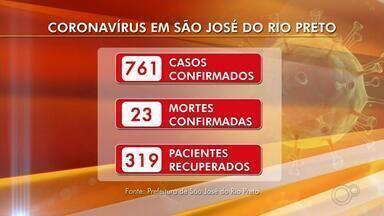 Confira a atualização de casos de coronavírus em Rio Preto e Araçatuba - Confira a atualização de casos de coronavírus em Rio Preto e Araçatuba nesta quinta-feira (4).