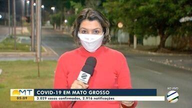 Sobe para 79 o número de mortes por Covid-19 em Mato Grosso - Sobe para 79 o número de mortes por Covid-19 em Mato Grosso