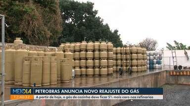 Petrobras anuncia novo reajuste do gás - A partir desta quinta-feira o gás de cozinha deve ficar 5% mais caro nas refinarias