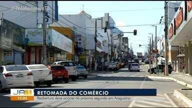 Cidade com mais casos de coronavírus, Araguaína se prepara para reabrir comércio - Cidade com mais casos de coronavírus, Araguaína se prepara para reabrir comércio