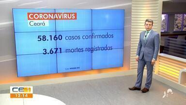 Veja a atualização dos casos de Covid-19 no Ceará - Saiba mais no g1.com.br/ce