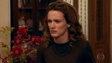 Maria enfrenta Severo para levar Alice para a casa de Anastácia - Braz ameaça interditar o pai