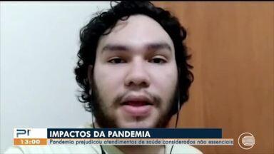 Pandemia prejudica atendimentos de saúde considerados não essenciais - Pandemia prejudica atendimentos de saúde considerados não essenciais