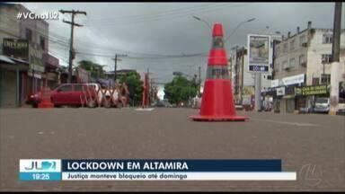 Justiça mantém lockdown em Altamira até domingo, 7 - Justiça mantém lockdown em Altamira até domingo, 7