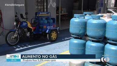 Gás de cozinha teve aumento de mais de 10% nos últimos 15 dias em Goiás - Sindicato disse que um reajuste ocorrido em 22 de maio não tinha sido repassado ao consumidor.