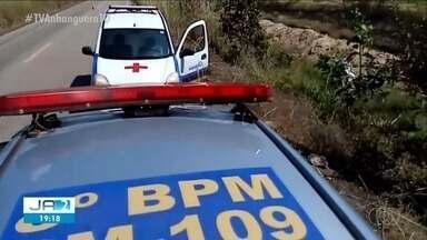 Criança morre e três pessoas ficam feridas em acidente no interior do Tocantins - Criança morre e três pessoas ficam feridas em acidente no interior do Tocantins