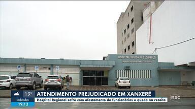 Hospital Regional de Xanxerê sofre com falta de funcionários - Hospital Regional de Xanxerê sofre com falta de funcionários