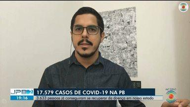 Mais de 17 mil casos de coronavírus são confirmados na Paraíba - 3.633 pessoas já conseguiram se recuperar da doença no Estado