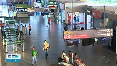 Aeroporto de Aracaju volta a operar dois voos na primeira quinzena de junho - Setor turístico volta a alimentar as esperanças.