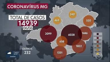 Covid-19: Minas tem novo recorde de mortes - São 14.939 casos confirmados. 368 pessoas morreram.