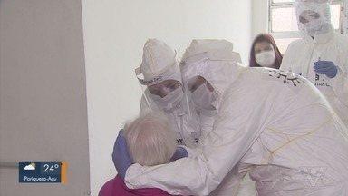 Rotary Clube de Santos promove testes de coronavírus em lar de idosos - Iniciativa surgiu para auxiliar na testagem de idosos da Baixada Santista.