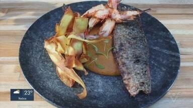Aprenda a escolher e preparar peixes com Dario Costa, destaque do 'Mestre do Sabor' - Chef mostra diferentes preparos com peixe.