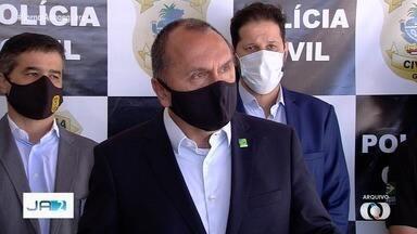 Secretário de Segurança Pública deve deixar o cargo, em Goiás - Informação de que Rodney Miranda dexaria o cargo foi divulgada pelo jornal O Popular.