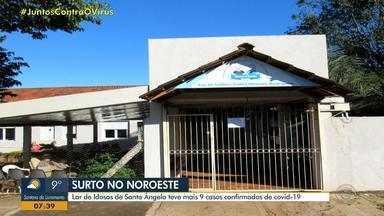 Asilo de Santo Ângelo confirma mais nove casos de coronavírus - Lar da Velhice Isabel Oliveira Rodrigues tem 12 infectados; três idosos estão internados.