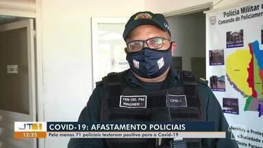 Mais de 70 policiais estão afastados das funções por testar positivo para covid-19 - Saiba como ficam os trabalhos no município diante dessas baixas.