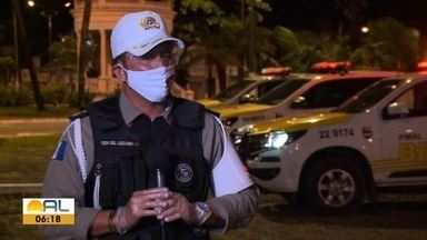 Aumenta o número de acidentes de moto nas rodovias de Alagoas - Maior parte desses acidentes acabam com vítimas fatais.