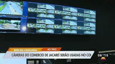 Câmeras do comércio de Jacareí serão usadas no COI - Promessa é de que funcione ainda em junho. Essa é a terceira data passada pela prefeitura.