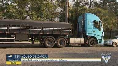 Polícia Rodoviária prende quadrilha em Cubatão - Ação ocorreu na rodovia Anchieta.