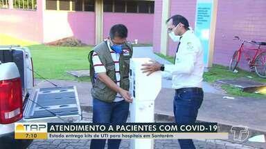Chegam mais kits de respiradores para melhorar demanda de atendimentos em Santarém - Confira na reportagem.