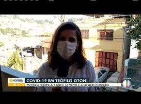 Covid-19: Confira como está a situação em Caratinga e Teófilo Otoni - Prefeitura de Caratinga registra 51 casos da doença. Em Teófilo Otoni, já são 371 casos da Covid-19.