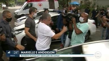 Operação policial prende bombeiro suspeito de envolvimento no caso Marielle - O bombeiro Maxwell Corrêa é acusado de obstrução da Justiça. A polícia acha que ele participou do descarte de armas no mar. Entre elas pode estar a submetralhadora usada para matar Marielle e Anderson. A arma nunca foi encontrada.