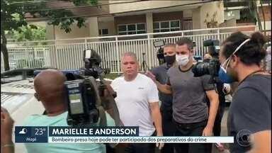 Bombeiro preso pode ter participado dos preparativos do assassinato de Marielle Franco - A Polícia Civil e o Ministério Público investigam a participação do bombeiro Maxwell nos preparativos do assassinato da vereadora Marielle Franco e do motorista Anderson Gomes.