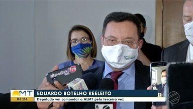 Botelho vence 3ª eleição para presidência da Assembleia - Botelho vence 3ª eleição para presidência da Assembleia.