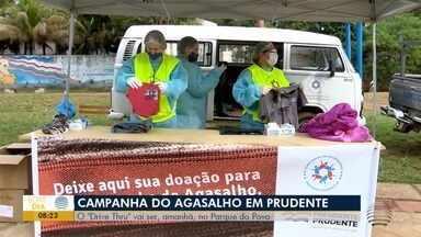 Campanha do agasalho é realizado no esquema drive thru em Prudente - Ação será no Parque do Povo, neste sábado (13).