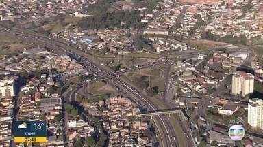 Globocop mostra trânsito no Anel Rodoviário - Região do aeroporto Carlos Prates registrou pequena retenção de veículos.