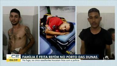 Família é feita refém no Porto das Dunas - Saiba mais em: g1.com.br/ce